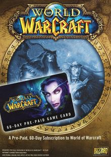 World of Warcraft 60 Day Pre-paid Game Card PC/Mac chiave a buon mercato per il download