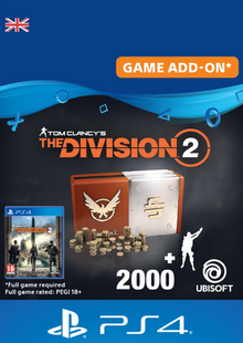 Tom Clancy's The Division 2 PS4 - Welcome Pack cheap key to download