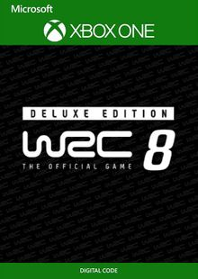 WRC 8 Deluxe Edition FIA World Rally Championship Xbox One (UK) cheap key to download