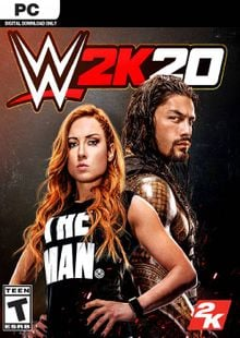 WWE 2K20 PC (EU) cheap key to download