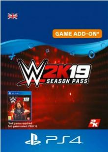 WWE 2K19 Season Pass PS4 cheap key to download
