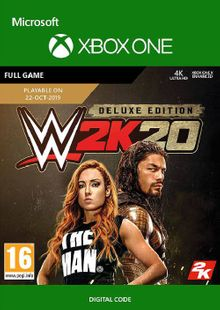 WWE 2K20: Deluxe Edition Xbox One cheap key to download