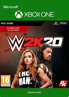 WWE 2K20 Xbox One cheap key to download