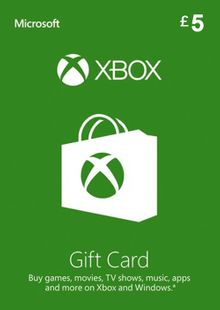 Microsoft Gift Card - £5 (Xbox One/360) cheap key to download