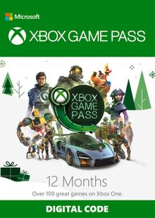 12 Month Xbox Game Pass Xbox One cheap key to download
