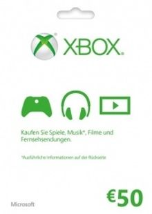 Microsoft Gift Card - 50 Euro (Xbox One/360) cheap key to download