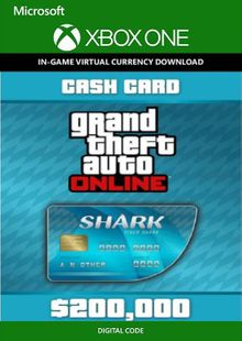 Grand Theft Auto V 5 - Tiger Shark Cash Card Xbox One cheap key to download