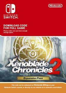 Xenoblade Chronicles 2: Expansion Pass Switch clé pas cher à télécharger