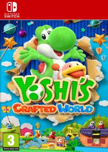 Yoshi's Crafted World Switch clé pas cher à télécharger