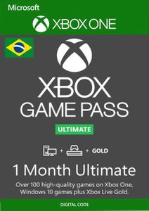 1 Month Xbox Game Pass Ultimate Xbox One / PC (Brazil)