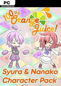 100% Orange Juice  Syura & Nanako Character Pack PC