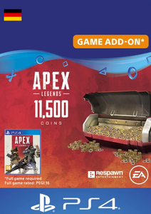 Apex Legends 11500 Coins PS4 (Germany)