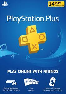 PlayStation Plus (PS ) - Suscripción de prueba de 14 días (Reino Unido)