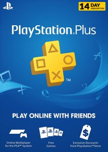 PlayStation Plus (PS) - 14 Day Trial Subscription (EU)