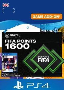 FIFA 21 Ultimate Team 1600 Points Pack PS4/PS5 (UK)