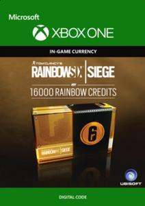 Tom Clancy's Rainbow Six Siege 16000 Credits Pack Xbox One