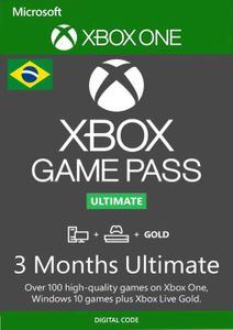 3 Month Xbox Game Pass Ultimate Xbox One / PC (Brazil)