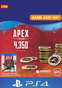 Apex Legends 4350 Coins PS4 (Spain)