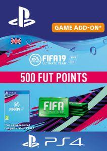 500 FIFA 19 Points PS4 PSN Code - UK account
