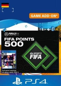 FIFA 21 Ultimate Team 500 Points Pack PS4/PS5 (Germany)