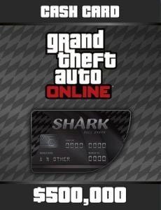 Grand Theft Auto Online: Bull Shark Cash Card PC Online Code