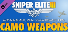 Sniper Elite 3  Camouflage Weapons Pack PC