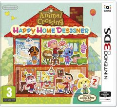 Animal Crossing: Happy Home Designer 3DS - Game Code