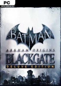 Batman Arkham Origins Blackgate  Deluxe Edition PC