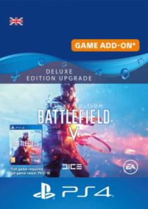 Battlefield V 5 Deluxe Edition Upgrade PS4