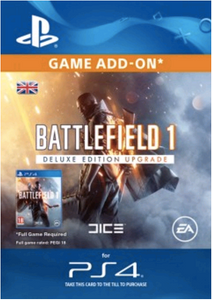 Battlefield 1 Deluxe Edition ADD-ON PS4