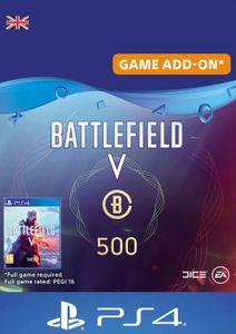 Battlefield V 5 - Battlefield Currency 500 PS4 (UK)