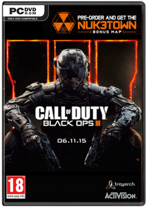 Call of Duty (COD): Black Ops III 3 + Nuketown DLC (PC)