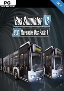Bus Simulator 18 - Mercedes-Benz Bus Pack 1 PC - DLC
