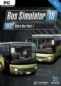 Bus Simulator 18 - Setra Bus Pack 1 PC - DLC (EU)