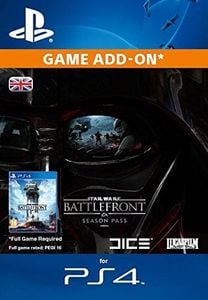 Star Wars Battlefront Season Pass  PS4 PSN Code