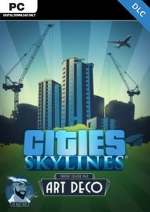 Cities Skylines - Content Creator Pack Art Deco DLC