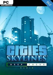 Cities Skyline PC - Deep Focus Radio DLC