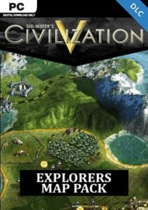 Civilization V  Explorer's Map Pack PC