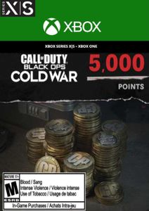 Call of Duty: Black Ops Cold War - 5000 Points Xbox One/ Xbox Series X|S