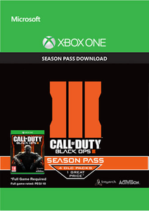 Call of Duty (COD): Black Ops III 3 Season Pass (Xbox One)