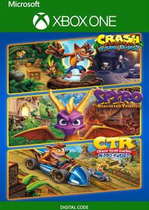 Crash + Spyro Triple Play Bundle Xbox One (UK)