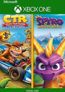 Crash Team Racing Nitro-Fueled + Spyro Game Bundle Xbox One (UK)