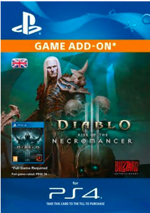 Diablo III: Rise of the Necromancer PS4
