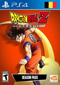 Dragon Ball Z Kakarot - Season Pass PS4 (Belgium)