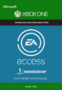 EA Access - 1 Month Subscription Xbox One Trial