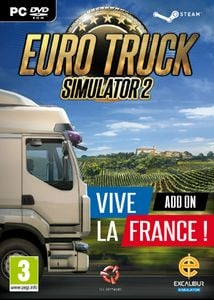 Euro Truck Simulator 2 PC - Vive la France DLC