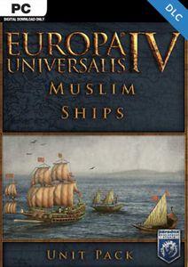 Europa Universalis IV Muslim Ships Unit Pack PC - DLC