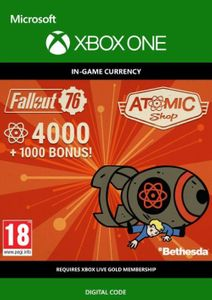 Fallout 76 - 5000 Atoms Xbox One
