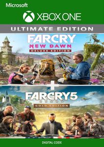 Far Cry 5 Gold Edition and Far Cry New Dawn Deluxe Edition Bundle Xbox One (UK)
