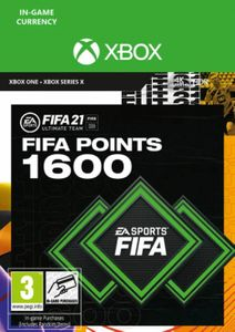 FIFA 21 Ultimate Team 1600 Points Pack Xbox One / Xbox Series X
